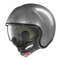 Nolan N21 Durango Scratched Chrome Open Face Helmet