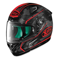 X-Lite X-802RR Marquetry Carbon Red Full Face Helmet