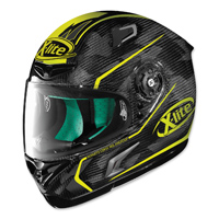 X-Lite X-802RR Marquetry Carbon Yellow Full Face Helmet