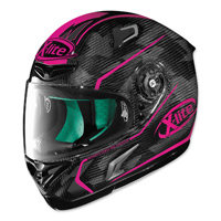 X-Lite X-802RR Marquetry Carbon Magenta Full Face Helmet