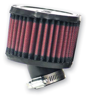 K&N Oval Straight Universal Air Filter