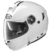 X-Lite X-1004 XCom Metal White Modular Helmet