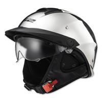 LS2 Rebellion Chrome Half Helmet