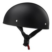 LS2 Stripper Matte Black Half Helmet