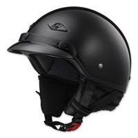 LS2 Bagger Gloss Black Half Helmet