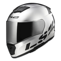 LS2 Breaker Chrome Full Face Helmet