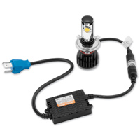 BikeMaster H4 LED Conversion Headlight Kit