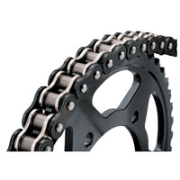 BikeMaster 520 X1 20 BMZR Z-Ring Chain Black/Chrome