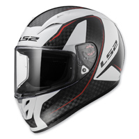 LS2 Arrow Carbon Fury Full Face Helmet