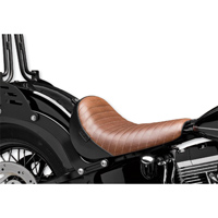 Le Pera Brown Pleated Bare Bones Solo Seat