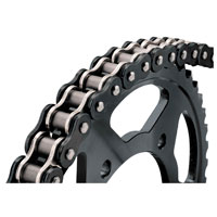 BikeMaster 525 X 130 BMOR O-Ring Chain Black/Chrome