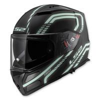 LS2 Metro Firefly Black Modular Helmet