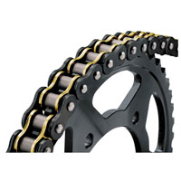 BikeMaster 525 X 130 BMZR Z-Ring Chain Black/Gold