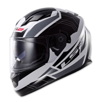 LS2 Stream Omega Black Full Face Helmet