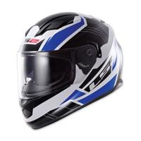 LS2 Stream Omega Blue Full Face Helmet