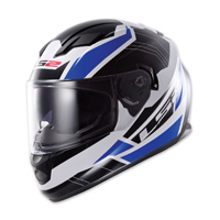 LS2 Stream Omega Blue Full Face Helmet