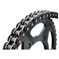 BikeMaster 530 X 120 BMXR X-Ring Chain  Black/Chrome