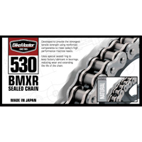 BikeMaster 530 X 120 BMXR X-Ring Chain  Black/Gold