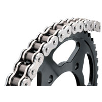 BikeMaster 530 X 130 BMXR X-Ring Chain  Chrome/Chrome