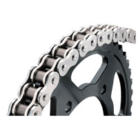 BikeMaster 530 x 160 BMZR Z-Ring Chain Chrome/Chrome