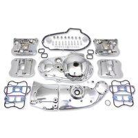 V-Twin Manufacturing Chrome Die Cast Dress Kit