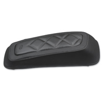 Mustang Carbon Diamond Saddlebag Lid Cover