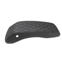 Mustang Diamond Saddlebag Lid Cover