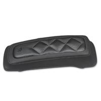 Mustang Carbon Diamond Saddlebag Lid Cover