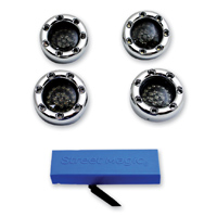 Custom Dynamics LED Chrome Bullet Ringz Turn Signal Kit