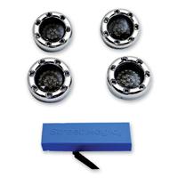 Custom Dynamics LED Chrome Bullet Ringz Turn Signal Kit