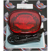 Custom Dynamics Red Add On LED Taillight