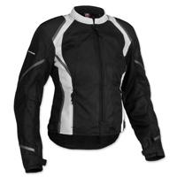 Firstgear Women's Mesh Tex Black Jacket