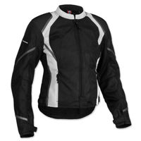 Firstgear Women's Mesh Tex Black Jacket