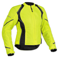 Firstgear Women's Mesh Tex DayGlo Jacket