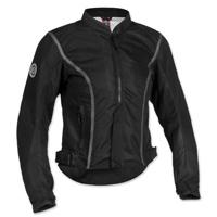Firstgear Women's Contour Mesh Black Jacket