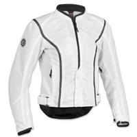 Firstgear Women's Contour Mesh White Jacket