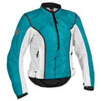 Firstgear Women's Contour Mesh Blue/White Jacket
