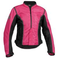 Firstgear Women's Contour Mesh Pink/Black Jacket