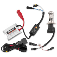 BikeMaster HID Light Kits 6000K H4HL White Bulb