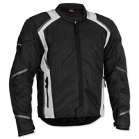 Firstgear Men's Mesh Tex Black Jacket