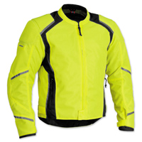 Firstgear Men's Mesh Tex DayGlo Jacket