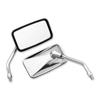 BikeMaster Stainless Mirror, Reverse Thread
