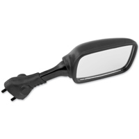BikeMaster Black O.E.M. Replacement Mirror, Right
