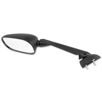 BikeMaster Black O.E.M. Replacement Mirror, Left
