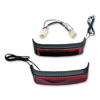Custom Dynamics Black Saddlebag LED Accent Lighting