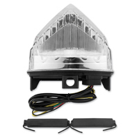 BikeMaster Clear Integrated Taillights