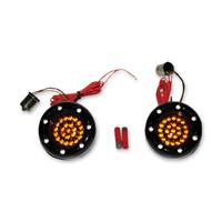 Custom Dynamics LED Gloss Black Bullet Ringz Inserts