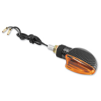 BikeMaster Universal Ultra Small V-Shaped Mini Stalk Turn Signals