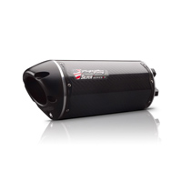 Two Brothers Racing Carbon Fiber M-2 Silver Series Slip-On Exhaust