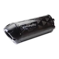 Two Brothers Racing Carbon Fiber  V.A.L.E. M-2 Black Series Slip-On Exhaust